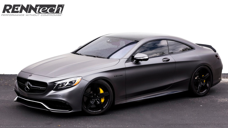 Renntech bumps the Mercedes S63 AMG Coupe to 708 hp