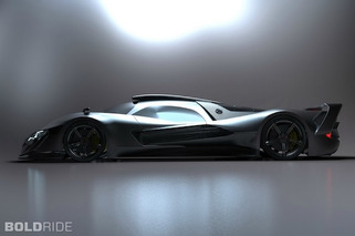 Mercedes SL GTR Concept Combines German and Japanese Engineering