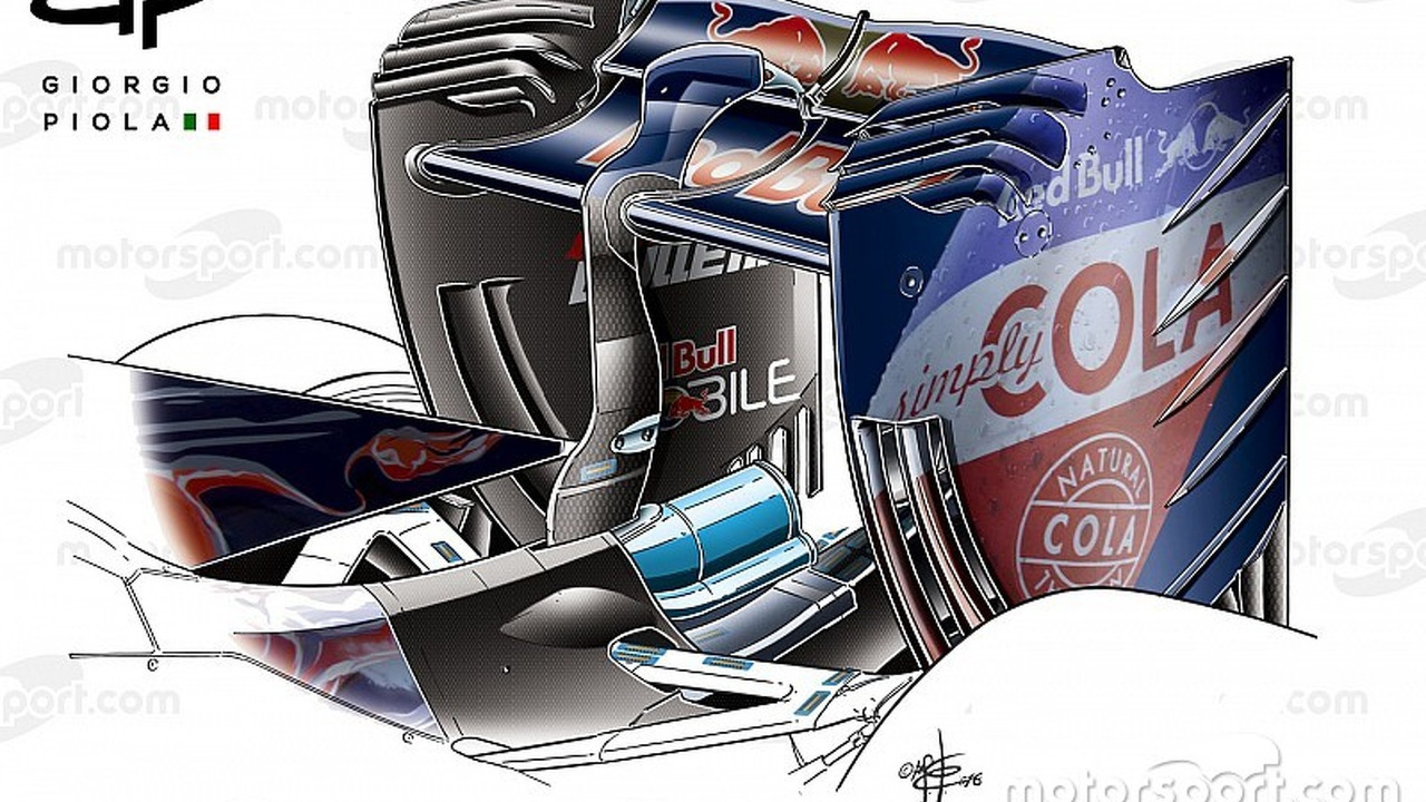 Toro Rosso STR11 rear wing, Chinese Grand-Prix