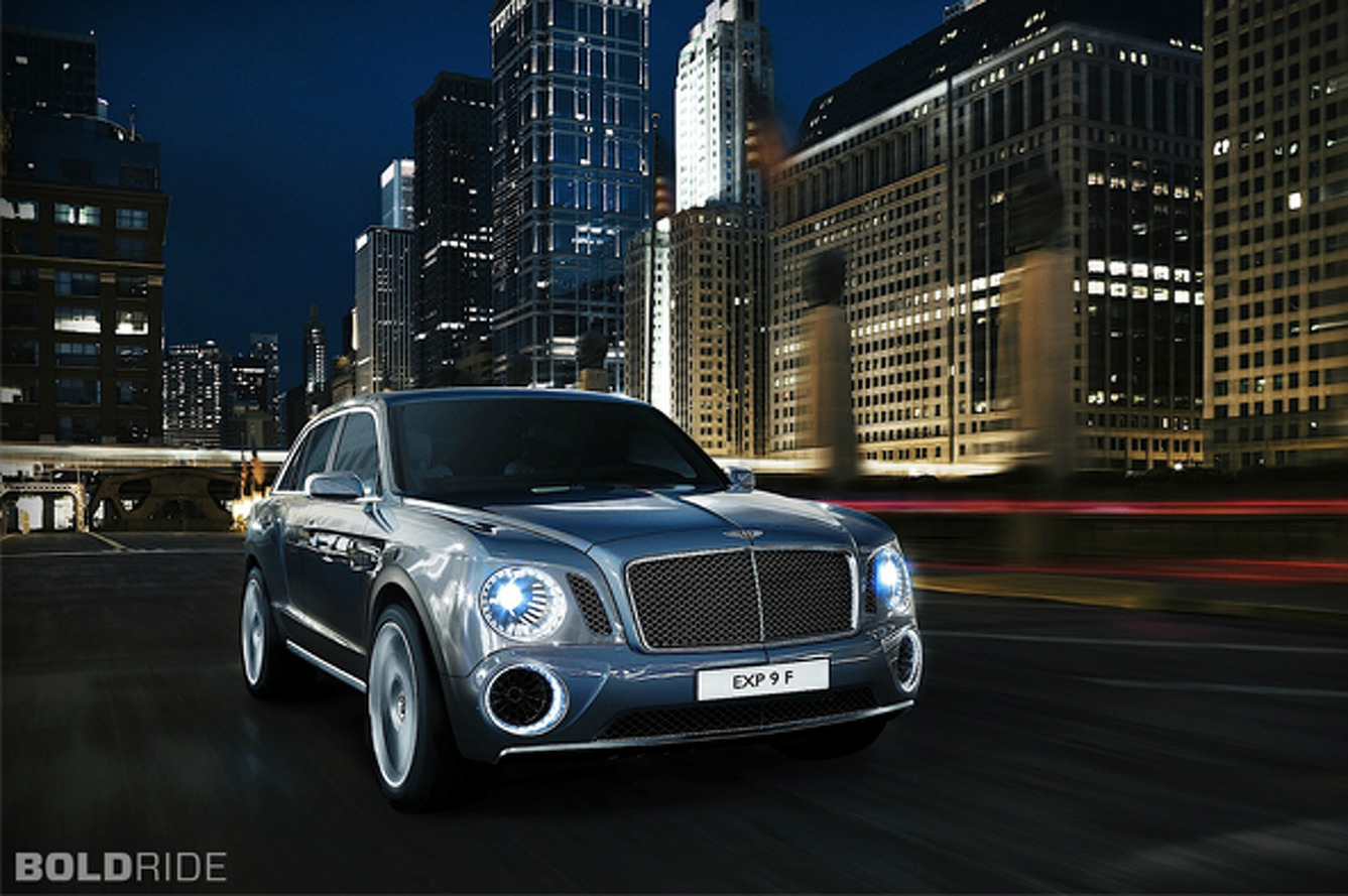 Unveiled: 2012 Bentley EXP 9 F Concept