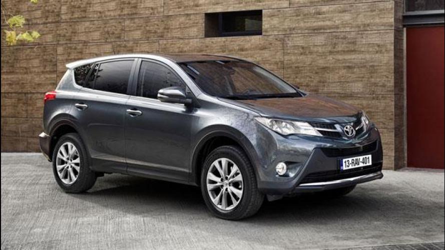 Nuova Toyota Rav4, prezzi da 24.900 euro