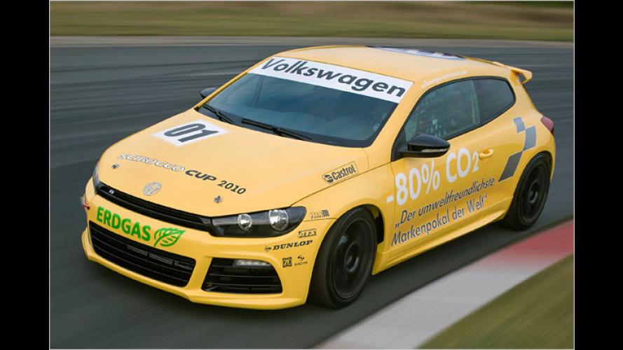 VW Scirocco Cup 2010: Gas geben für den Umweltschutz