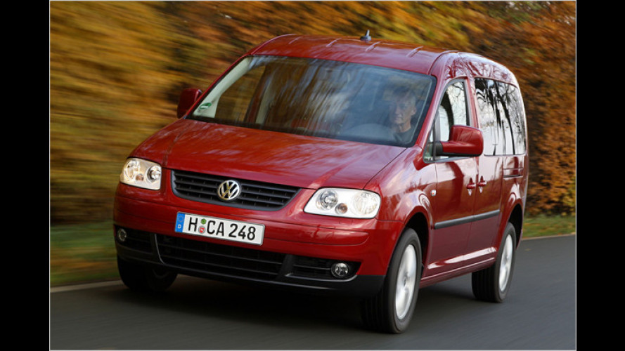 Vier alle: VW Caddy Maxi jetzt mit zwei angetriebenen Achsen