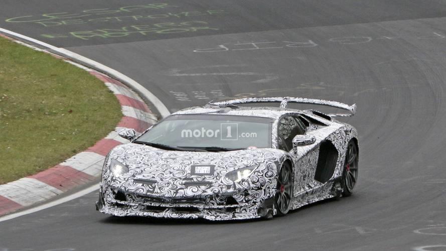Lamborghini Aventador SVJ, Nürburgring rekoruna hazırlanıyor