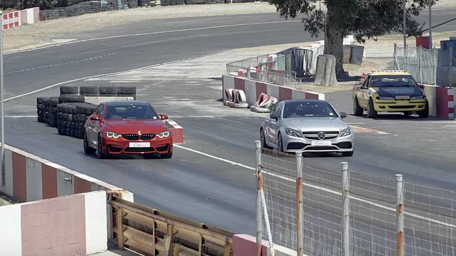 BMW M4 Competition Package vs. Mercedes-AMG C 63 S Coupé