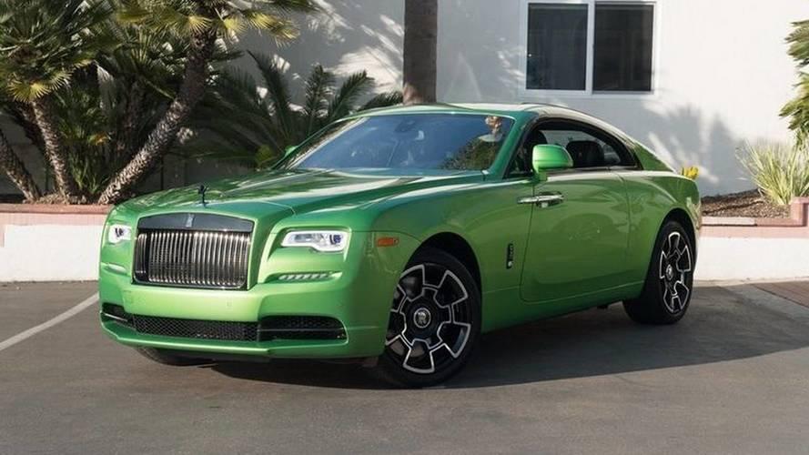 Cette Rolls-Royce Wraith unique est à vendre