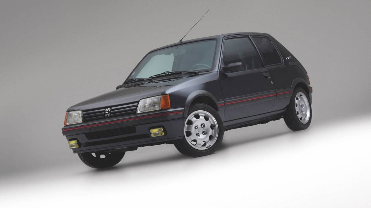 Armored Peugeot 205 GTI