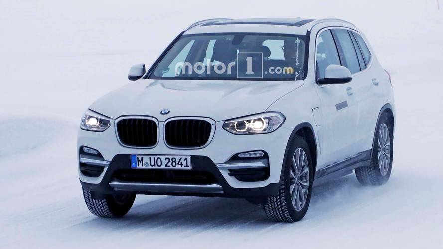 BMW iX3 Electric SUV Caught Again, Now Wearing A Different Fascia