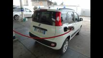 Fiat Panda a metano, test di consumo reale Roma-Forlì 045