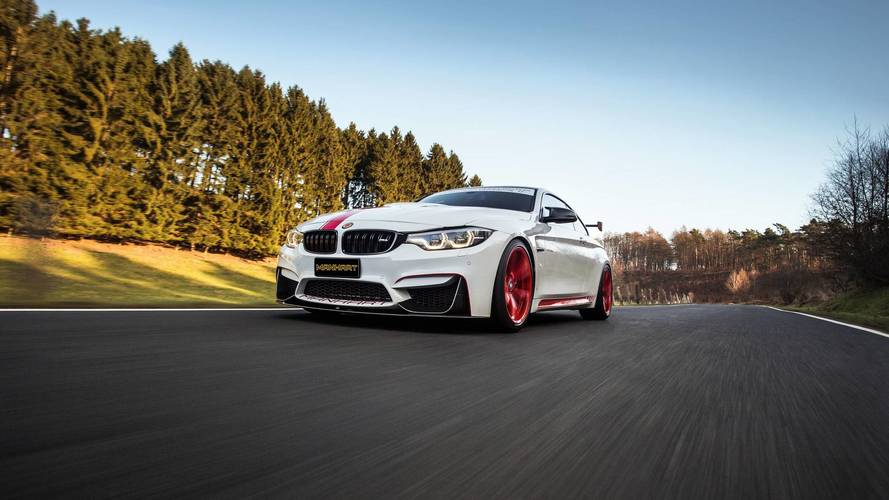 Manhart MH4 550 Turns BMW M4 Coupe Into A Track Weapon