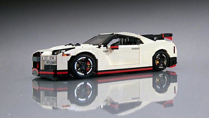 Insolite - Une Nissan GT-R Nismo en Lego !
