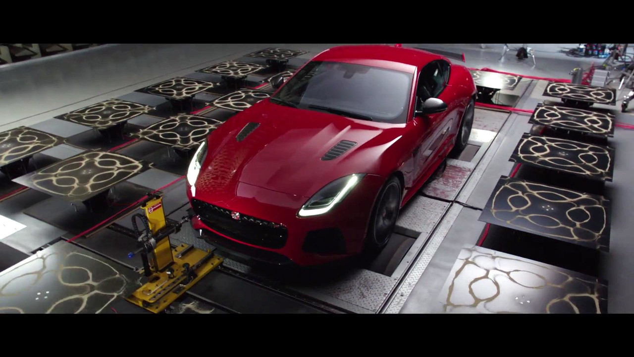 Jaguar F-Type SVR Cymatics