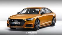 Audi S8 render