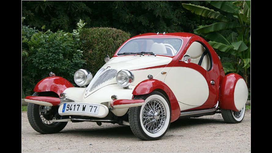 Die Rumen-Show: Möchtegern-Bugatti von 4Stroke im Test