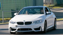 BMW M4 prototype spy photo