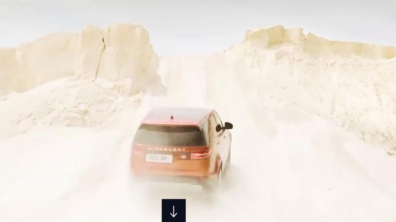 2017 Land Rover Discovery sızan resmi fotoğraflar
