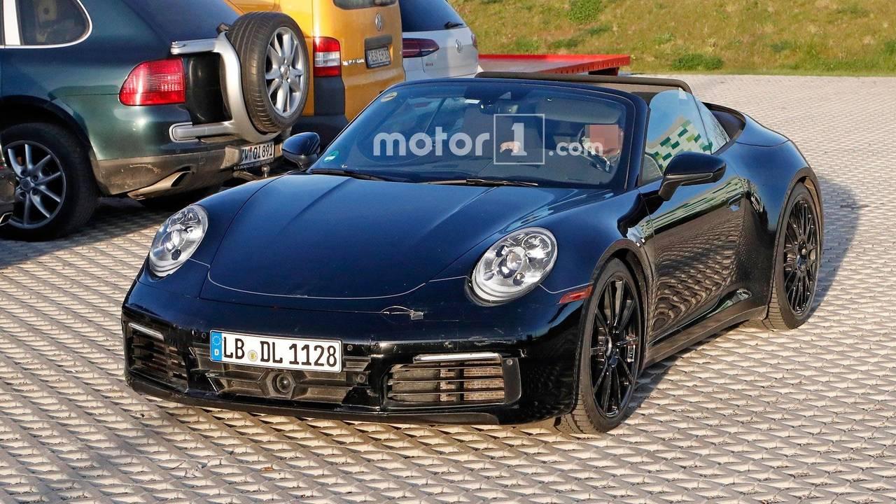 Yeni nesil Porsche 911 Cabriolet casus fotoğraf
