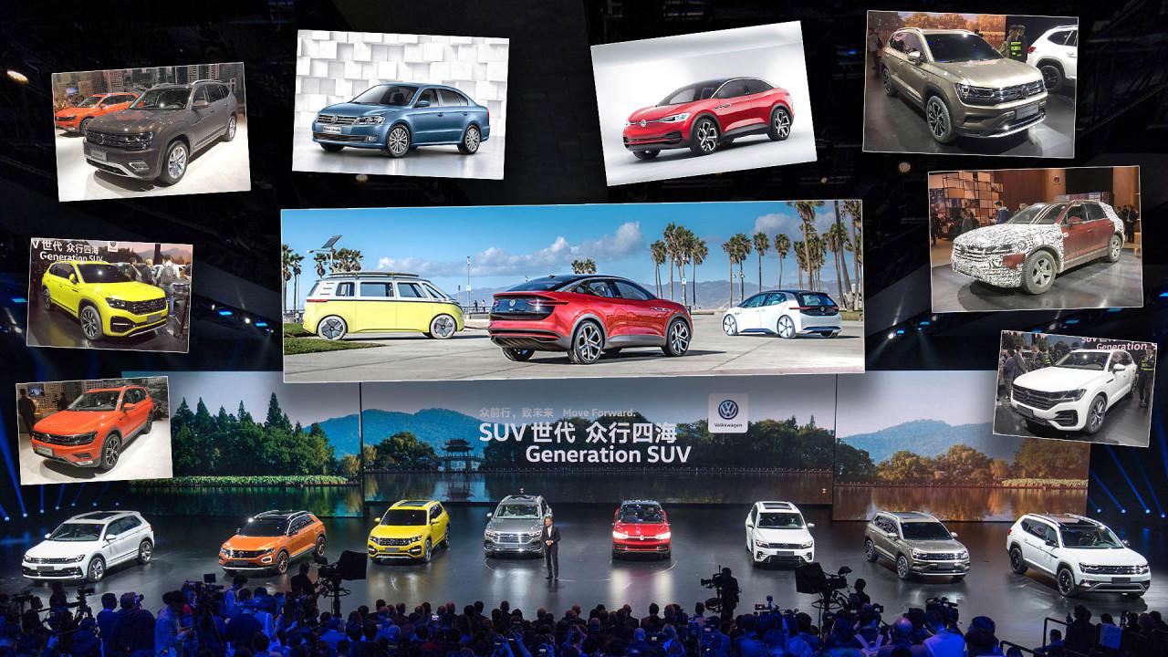 Die Weltpremiere des VW Touareg