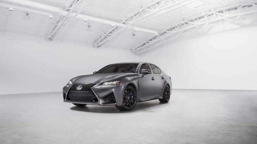 Lexus GS F et RC F éditions spéciales 10e anniversaire