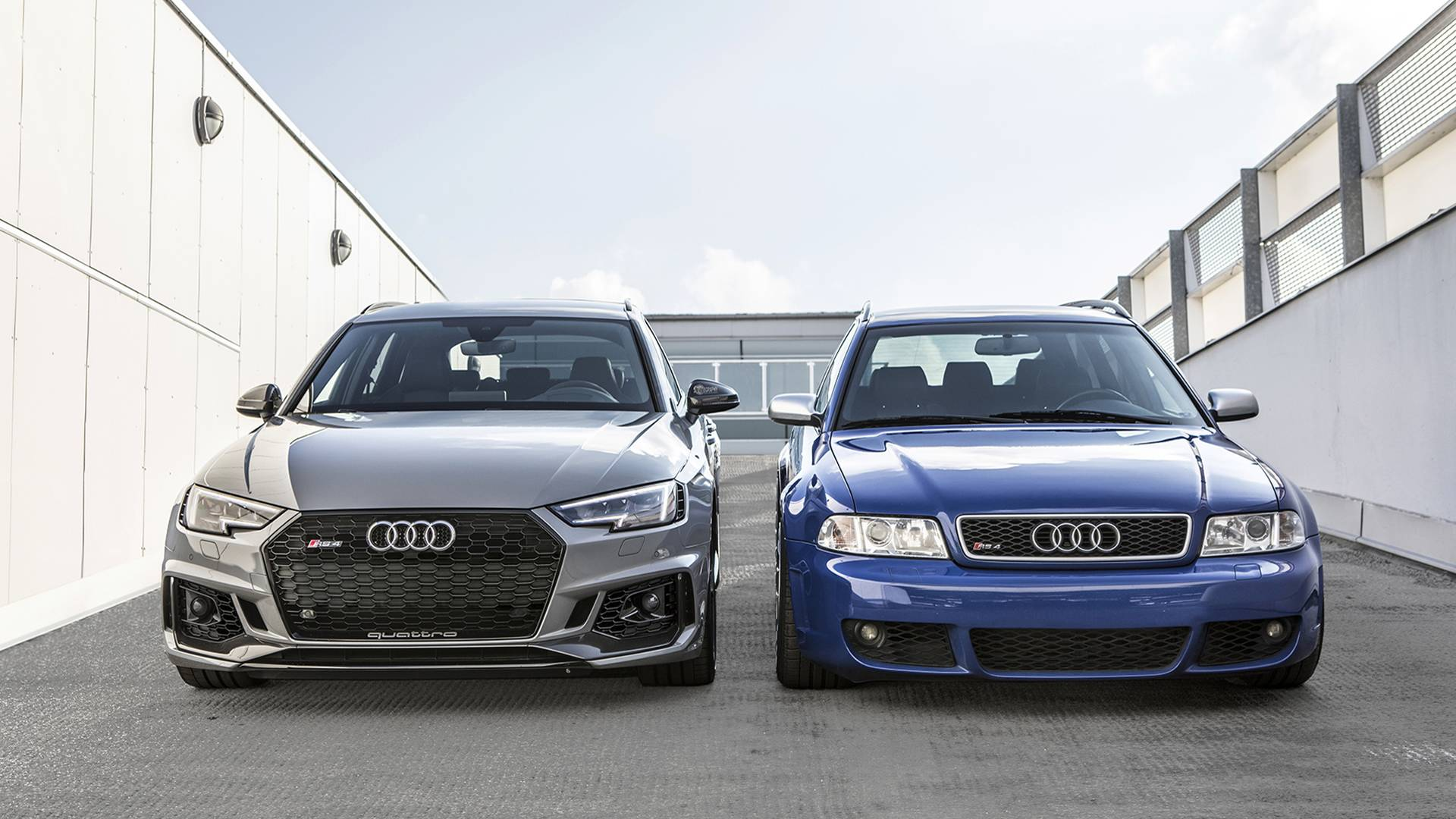 Past Meets Present: 2001 Audi RS4 Avant Joined By 2018 Model