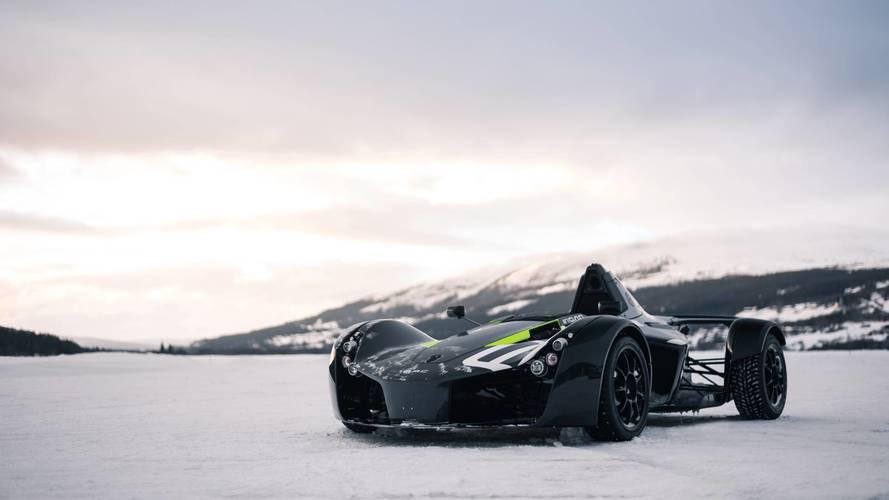 BAC Monos let loose on Swedish ice