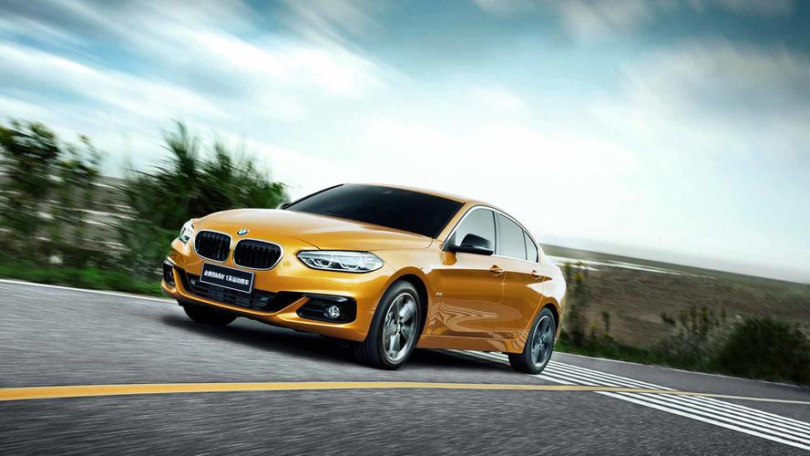 Yeni BMW 1 Serisi sedan sadece Çin'e özel olacak