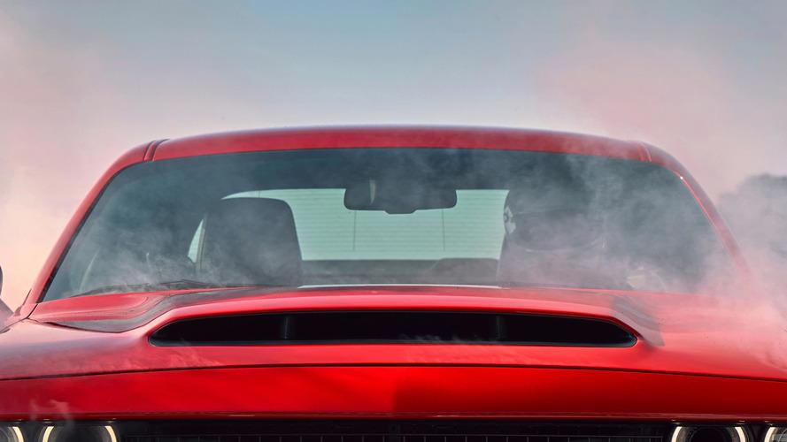 Dodge Challenger SRT Demon havaya doymayacak
