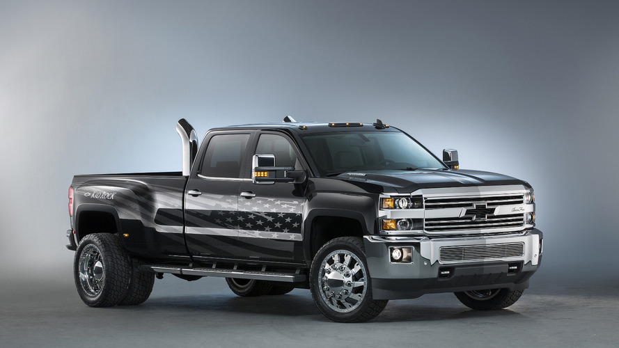 Chevrolet Silverado 3500 HD Kid Rock concept pays tribute to the American worker