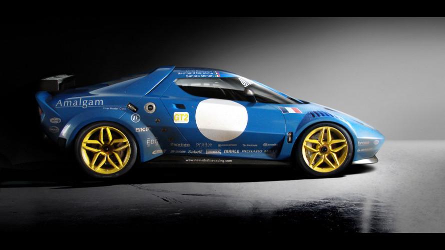 Lancia New Stratos: 540 CV e 1.247 kg