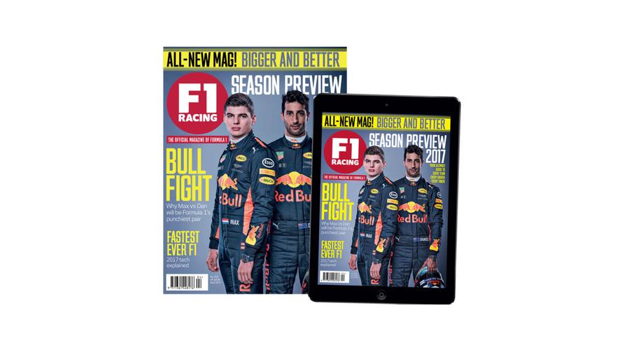 Motorsport Network actualiza la revista F1 Racing con un nuevo look