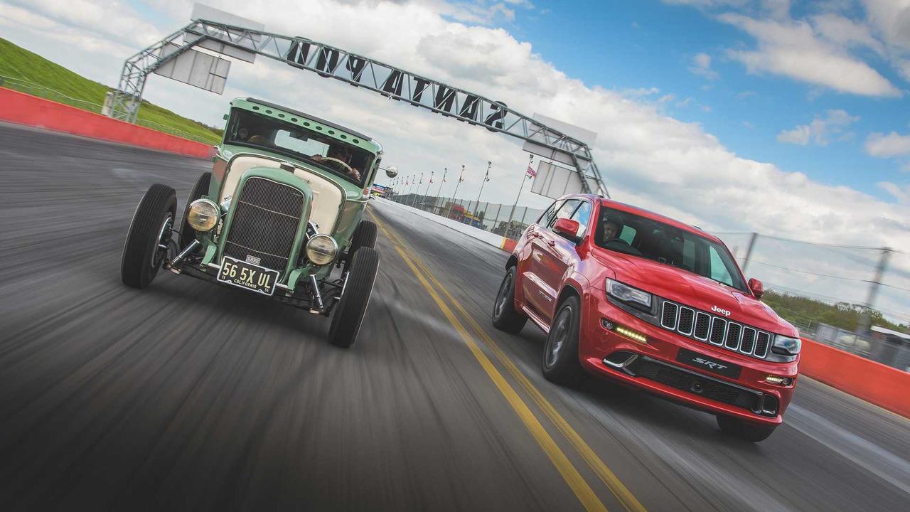 Jeep Grand Cherokee SRT Race