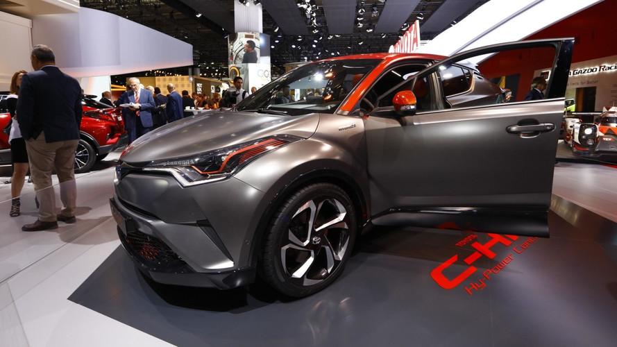 Toyota C-HR Hy-Power Concept - Hybride énervé