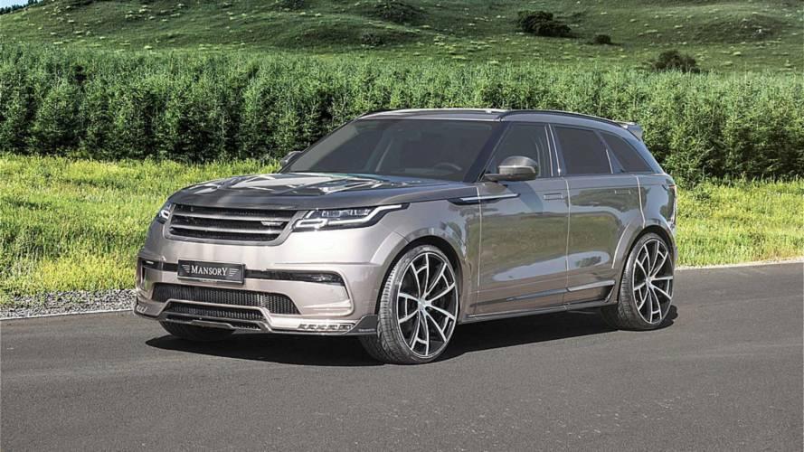 Karbonfiberle donatılmış Range Rover Velar'a bir göz atın