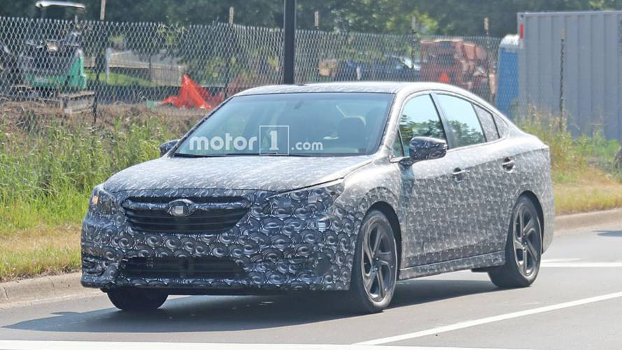 Next Subaru Legacy Strips Off Body Cladding In New Spy Shots