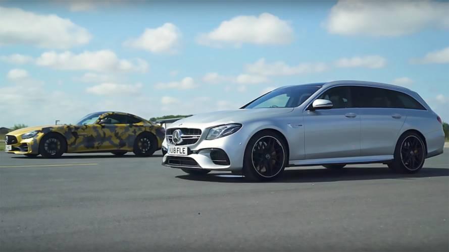 Mercedes-AMG Duel: E63 S Wagon Drag Races GT R