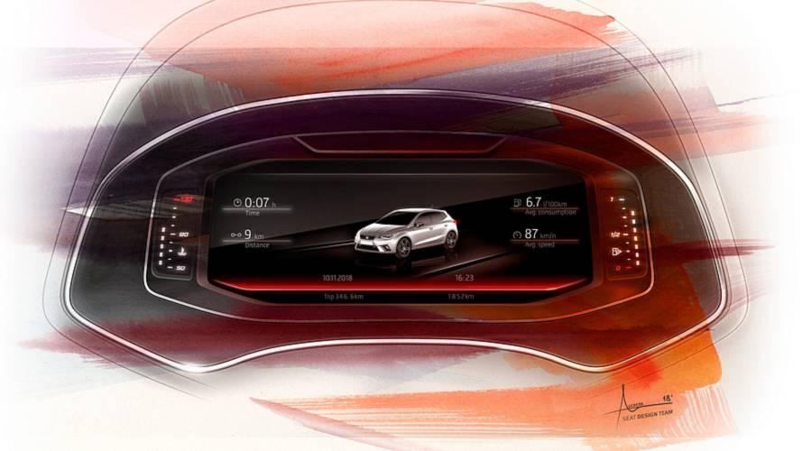 SEAT Ibiza ve Arona'ya dijital gösterge paneli opsiyonu geliyor