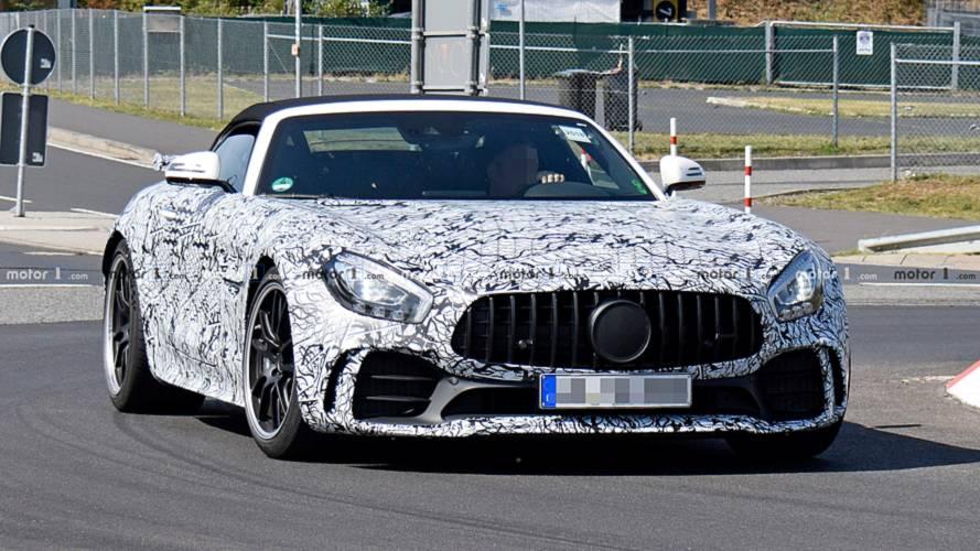 Mercedes-AMG GT R Roadster ilk kez görüntülendi