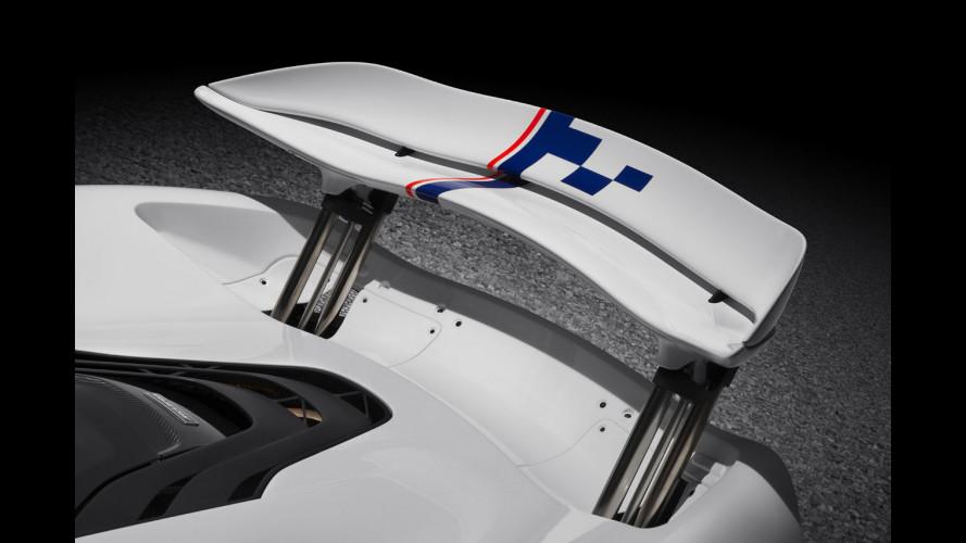 McLaren, una P1 per Prost a Goodwood