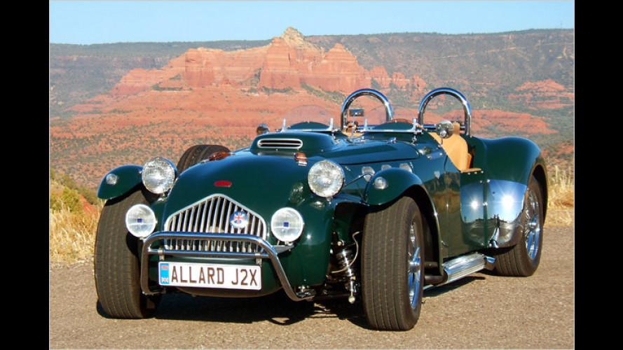 Allard J2X: Roadster-Reinkarnation
