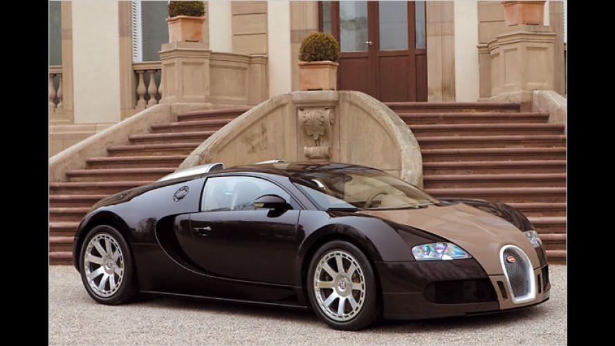Mondän, mondän: Der Bugatti Veyron Fbg par Hermès