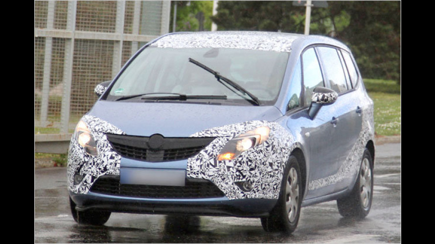 Erwischt: Opel Zafira