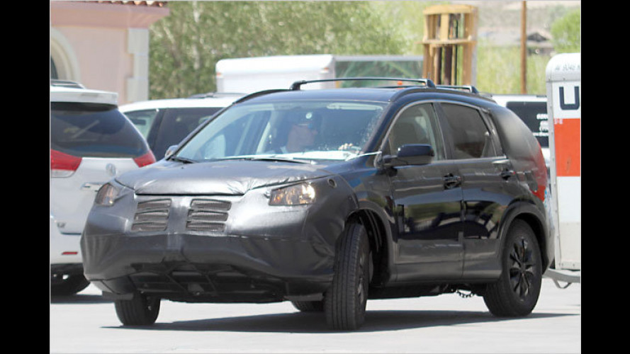 Im Tal des Todes erwischt: Der neue Honda CR-V