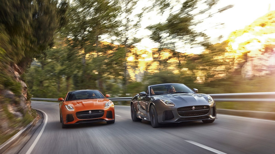 Jaguar F-Type SVR US and UK pricing announced