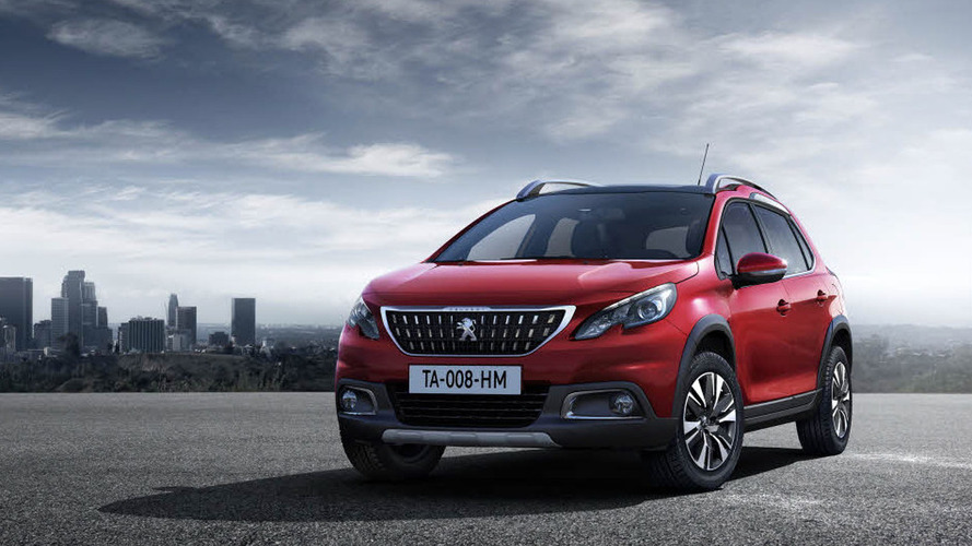 Peugeot 2008 facelift unveiled for Geneva