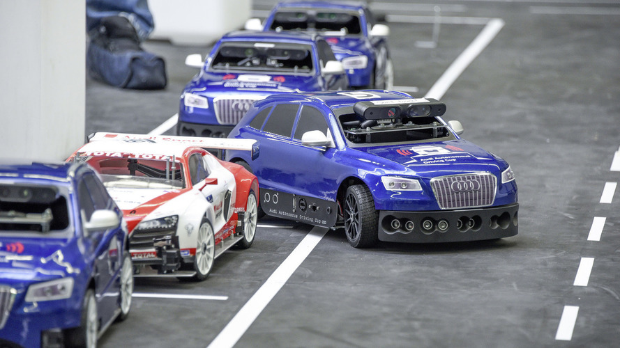 1:8 scale Audi Q5s to compete in the Audi Autonomous Driving Cup