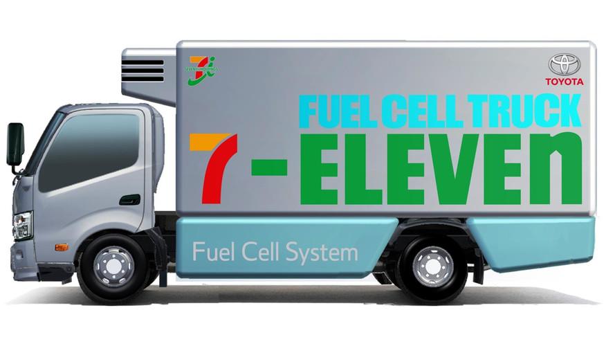 Toyota ve 7 Eleven hidrojen yakıtlı araç işbirliğinde