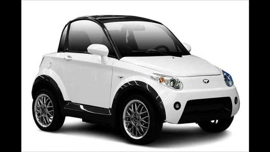 Mycar: Nice stellt schickes Elektroauto für zwei Personen vor