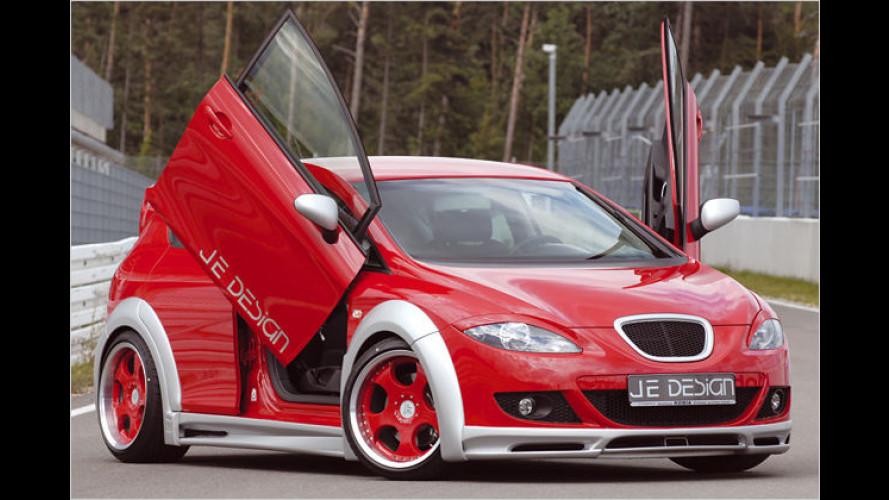 Kleiner, starker Spanier: Seat Leon Wide Body von JE Design
