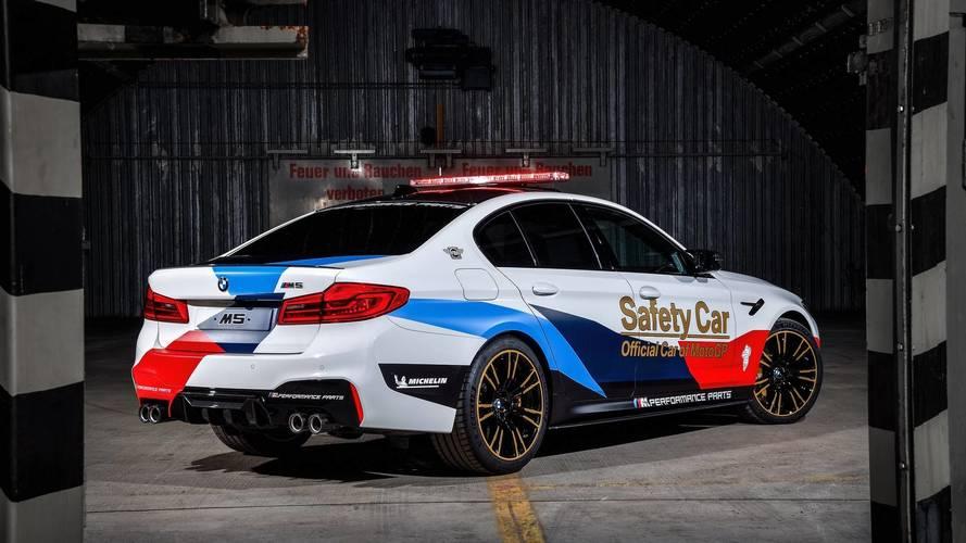 BMW M5 MotoGP Safety Car, hace su estreno vestido de M Performance