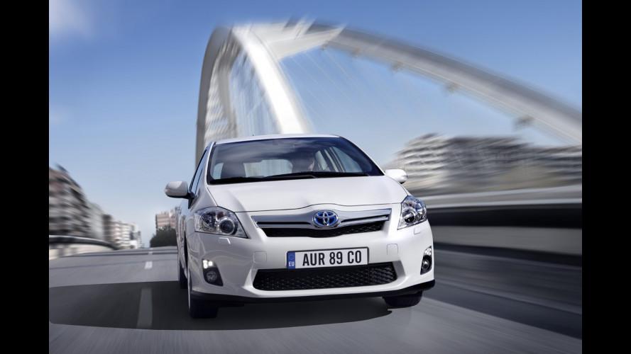 Toyota Auris HSD: i prezzi